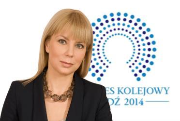 Kongres Kolejowy 2014 pod patronatem premier Bieńkowskiej